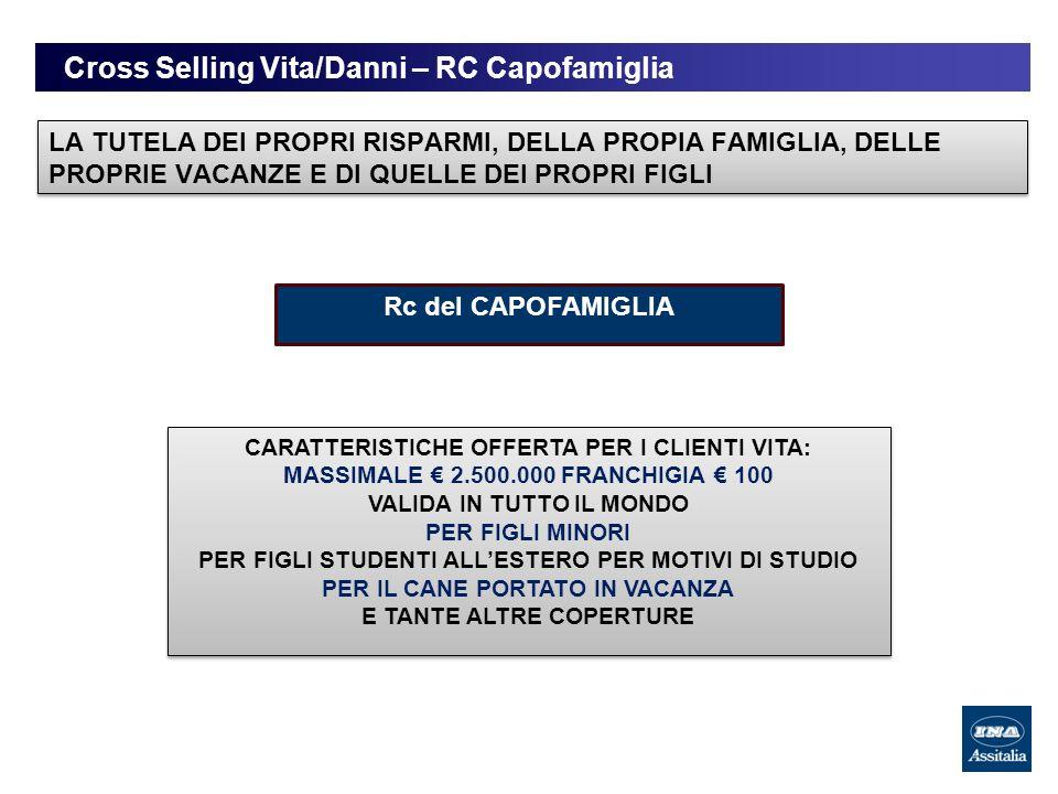 Cross Selling Vita/Danni – RC Capofamiglia