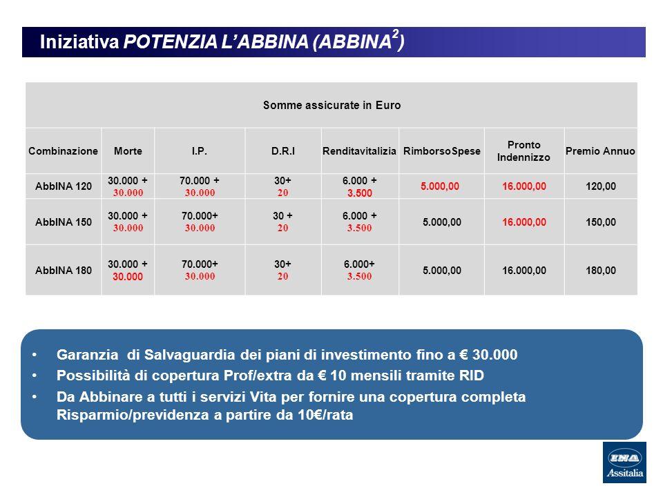 Iniziativa POTENZIA L'ABBINA (ABBINA2)