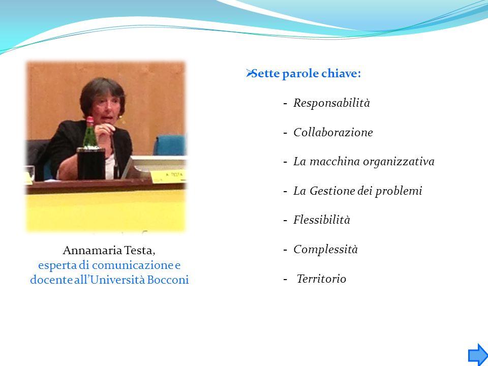 esperta di comunicazione e docente all'Università Bocconi