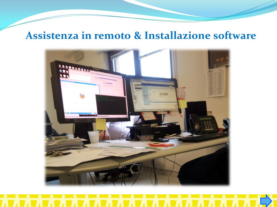 Assistenza in remoto & Installazione software