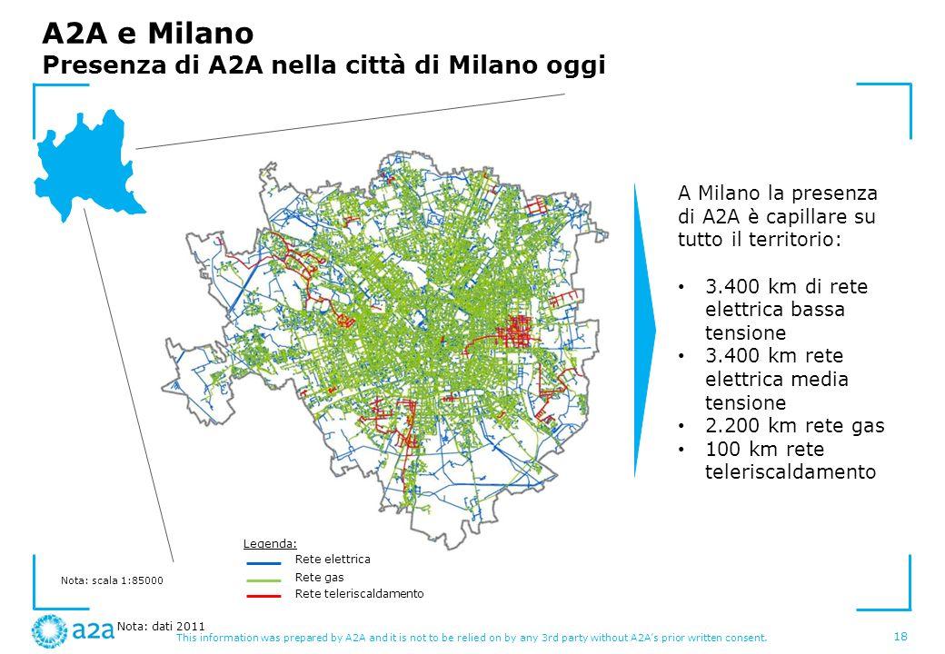 A2A e Milano Presenza di A2A nella città di Milano oggi