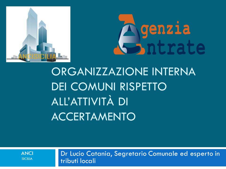 Dr Lucio Catania, Segretario Comunale ed esperto in tributi locali