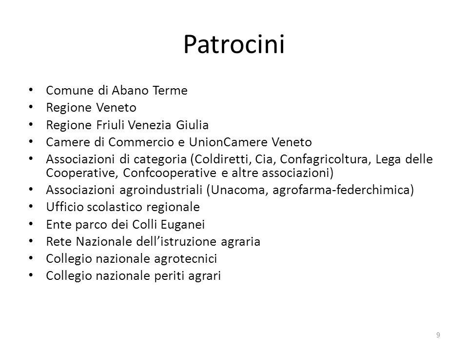 Patrocini Comune di Abano Terme Regione Veneto