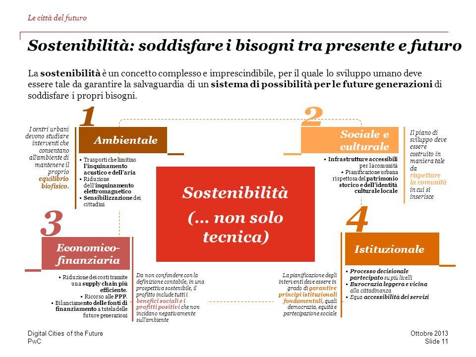 Sostenibilità: soddisfare i bisogni tra presente e futuro