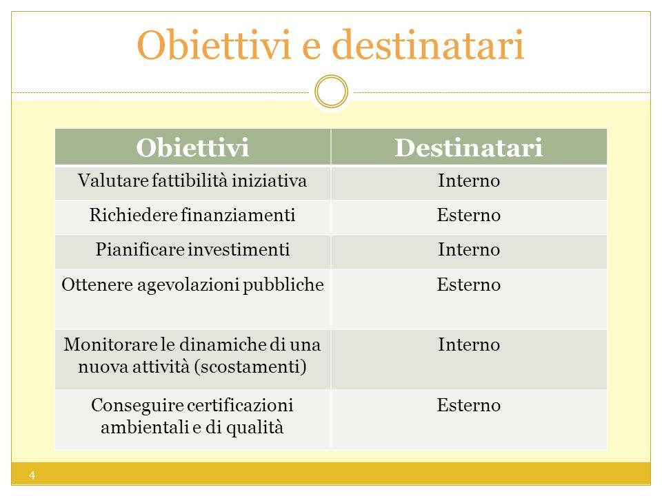 Obiettivi e destinatari
