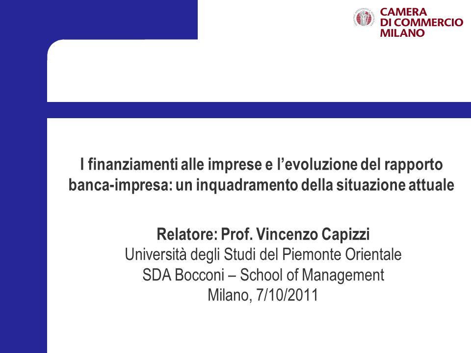 Relatore: Prof. Vincenzo Capizzi