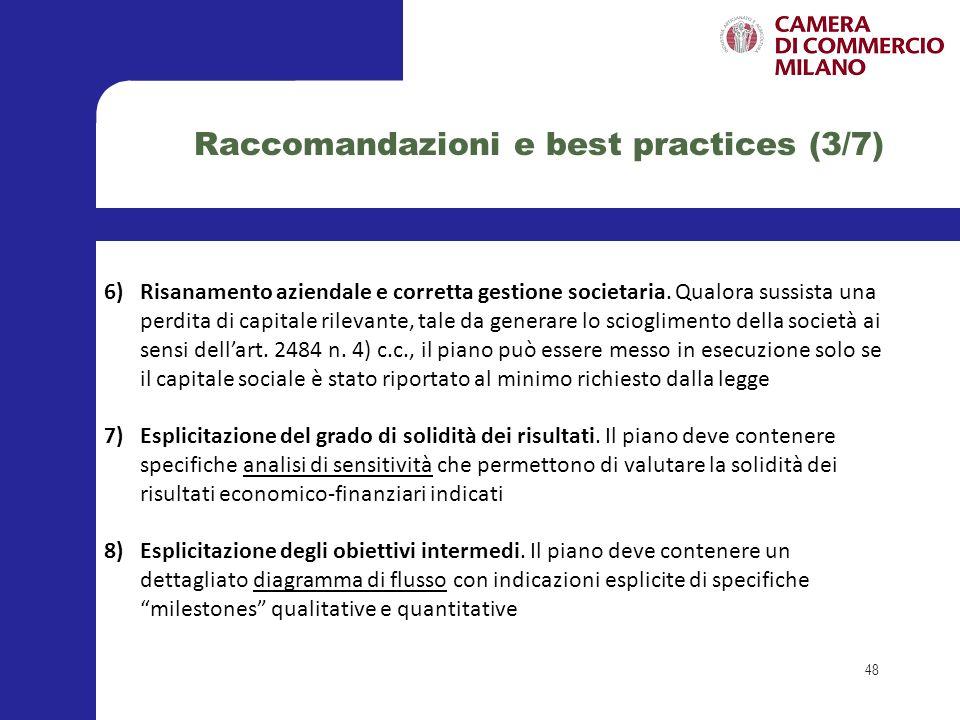 Raccomandazioni e best practices (3/7)