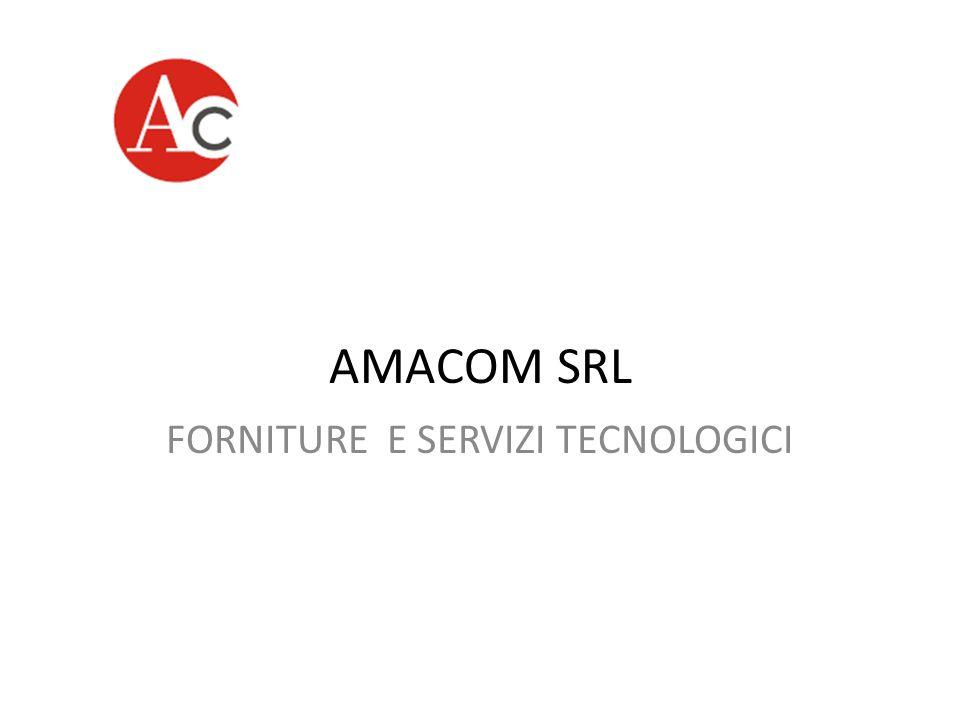 FORNITURE E SERVIZI TECNOLOGICI
