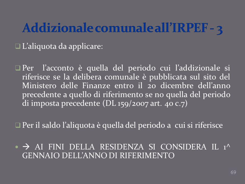 Addizionale comunale all'IRPEF - 3