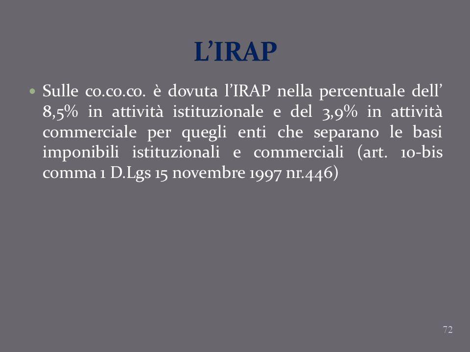 L'IRAP