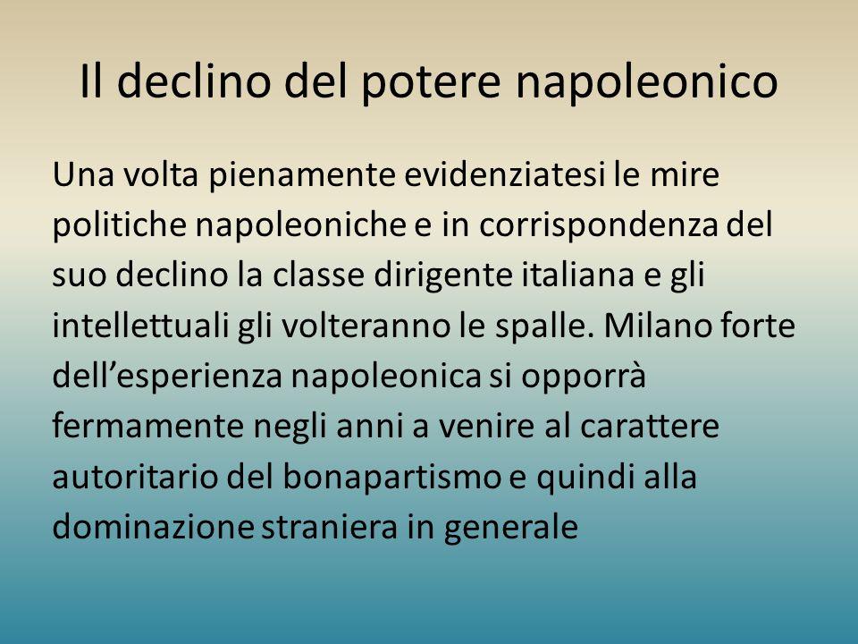 Il declino del potere napoleonico