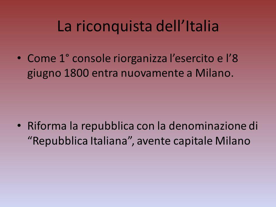 La riconquista dell'Italia