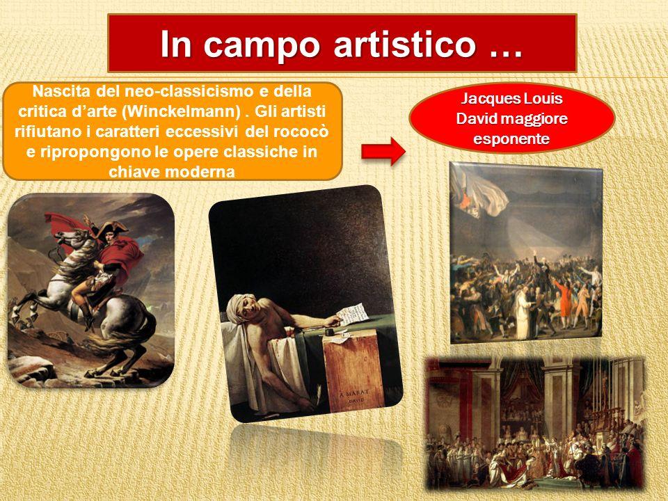 Jacques Louis David maggiore esponente