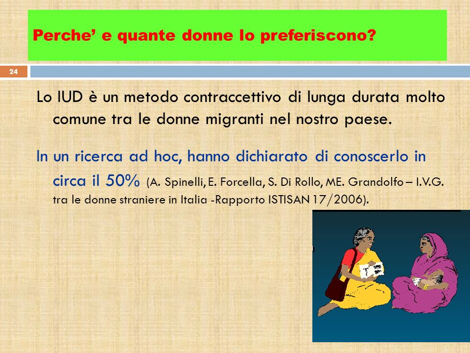 Perche' e quante donne lo preferiscono