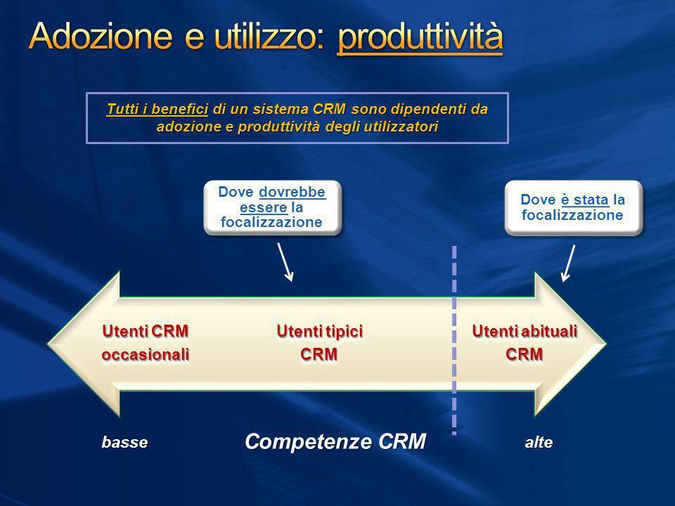 Adozione e utilizzo: produttività