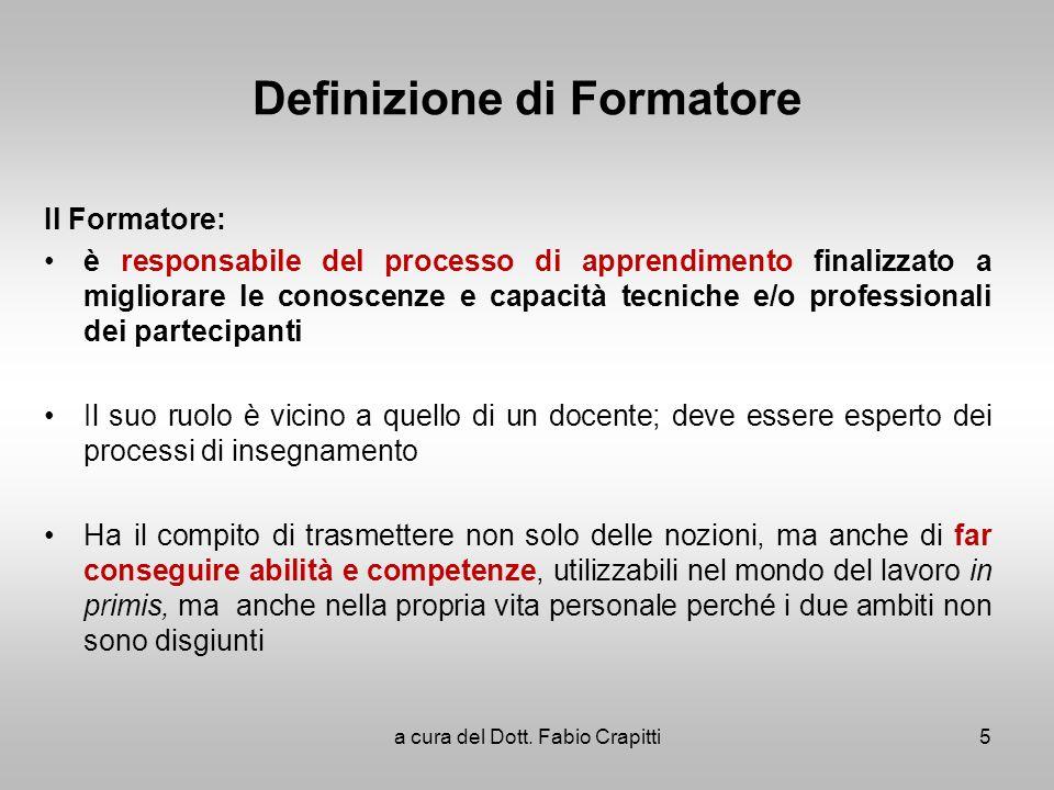 Definizione di Formatore