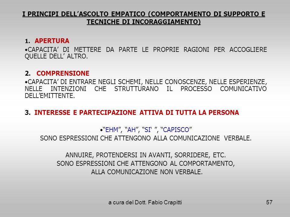 3. INTERESSE E PARTECIPAZIONE ATTIVA DI TUTTA LA PERSONA