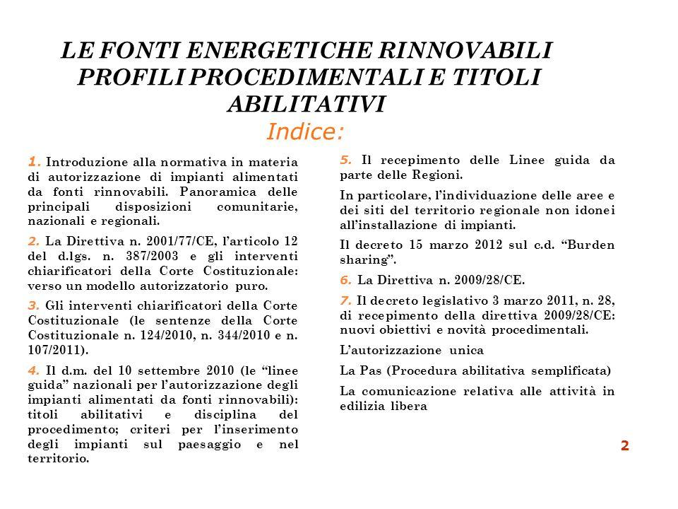 Art.23 bis del D.L.25 giugno 2008 n.112 convertito in legge 6 agosto 2008 n.133