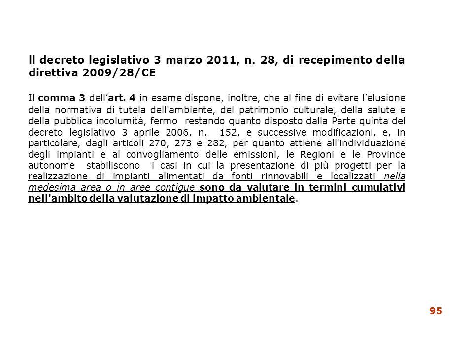 ll decreto legislativo 3 marzo 2011, n