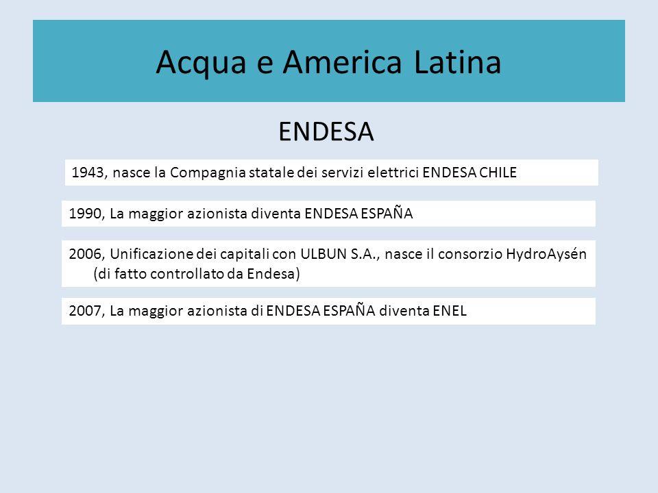 Acqua e America Latina ENDESA