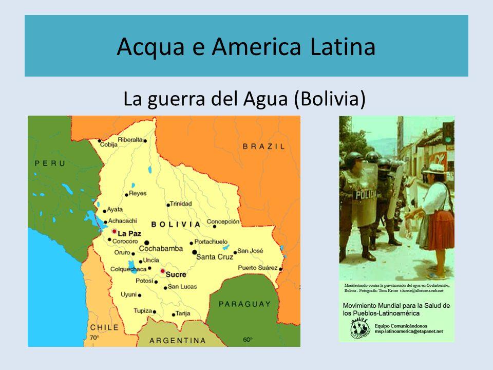 La guerra del Agua (Bolivia)
