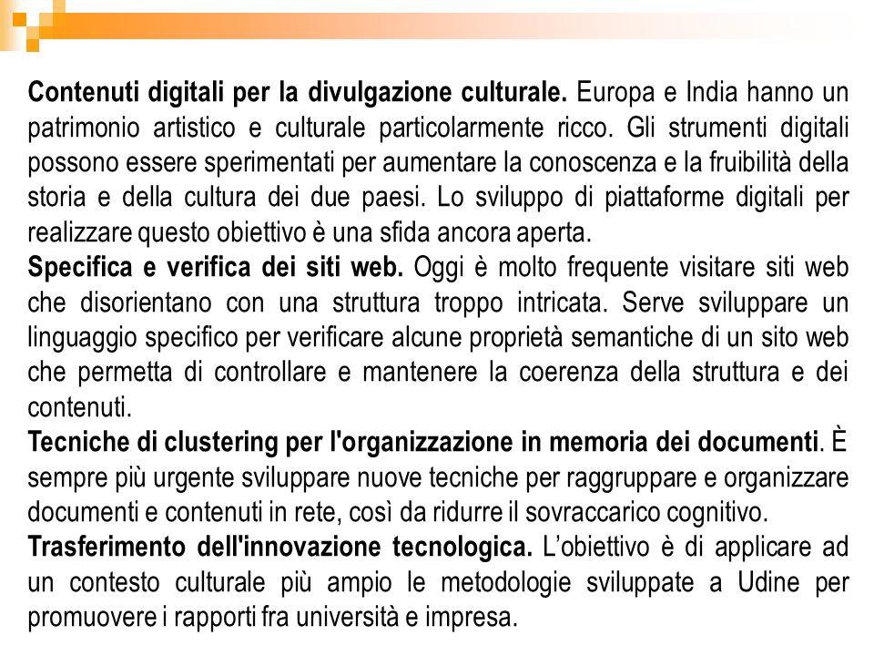Contenuti digitali per la divulgazione culturale