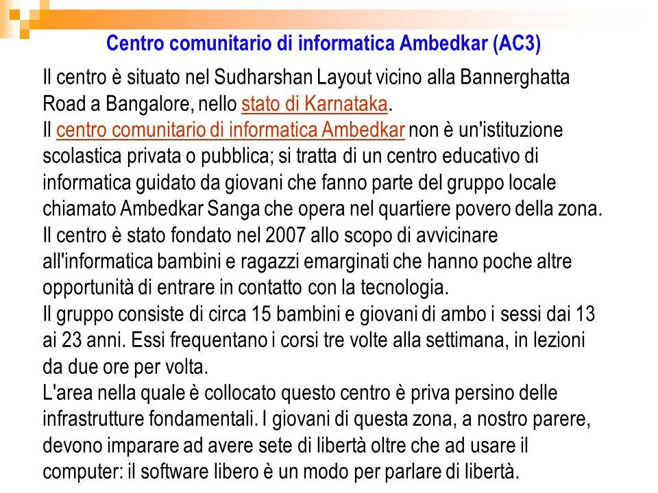 Centro comunitario di informatica Ambedkar (AC3)