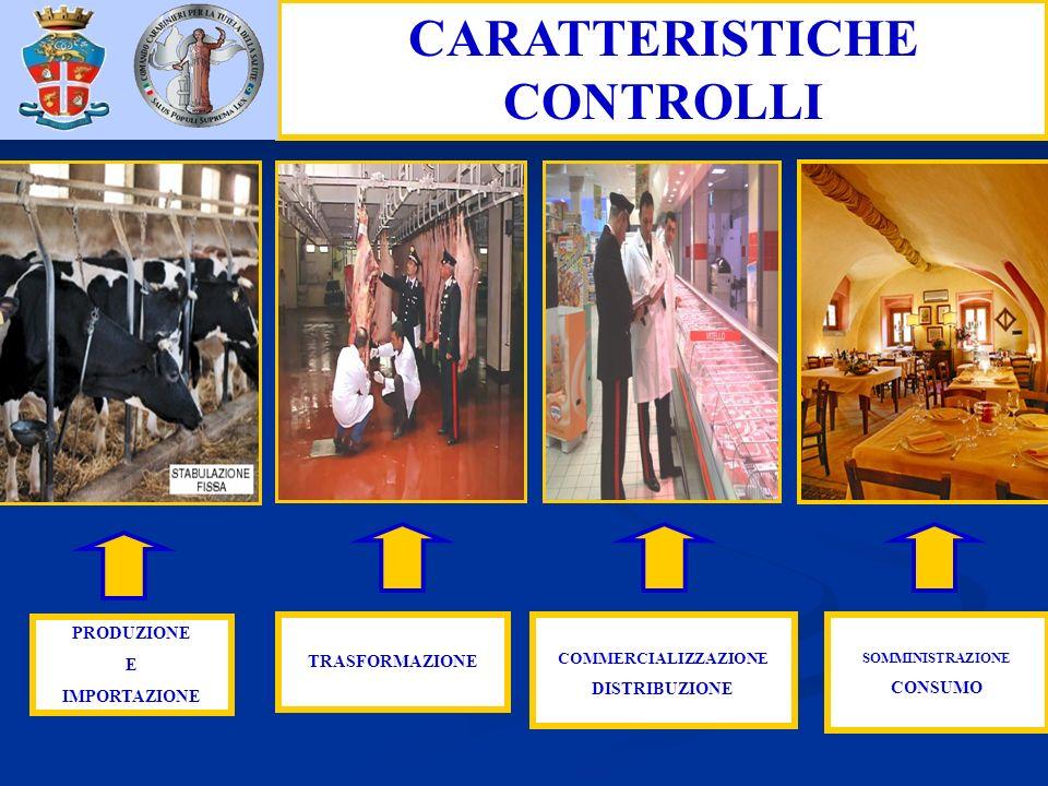CARATTERISTICHE CONTROLLI