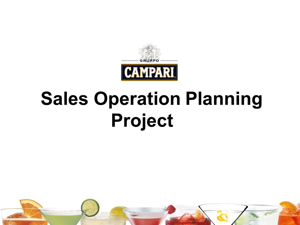 Sales Operation Planning Project