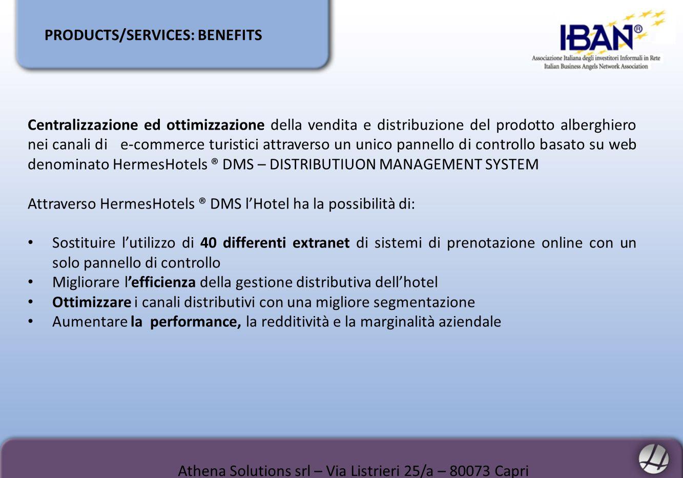 Athena Solutions srl – Via Listrieri 25/a – 80073 Capri