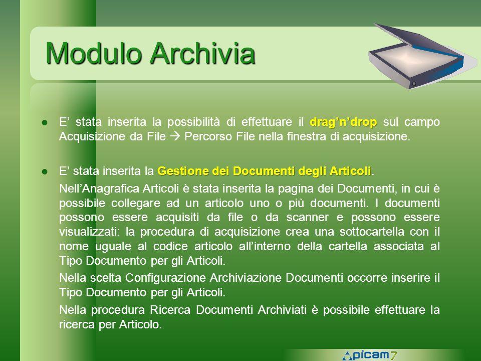 Modulo Archivia