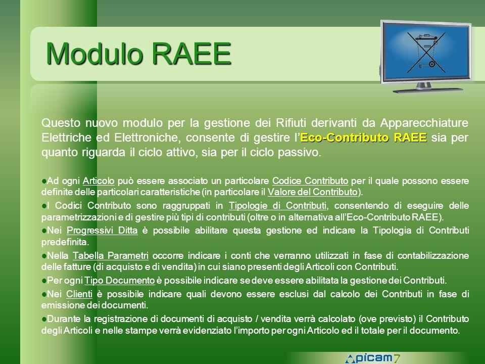 Modulo RAEE