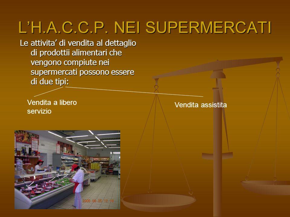 L'H.A.C.C.P. NEI SUPERMERCATI