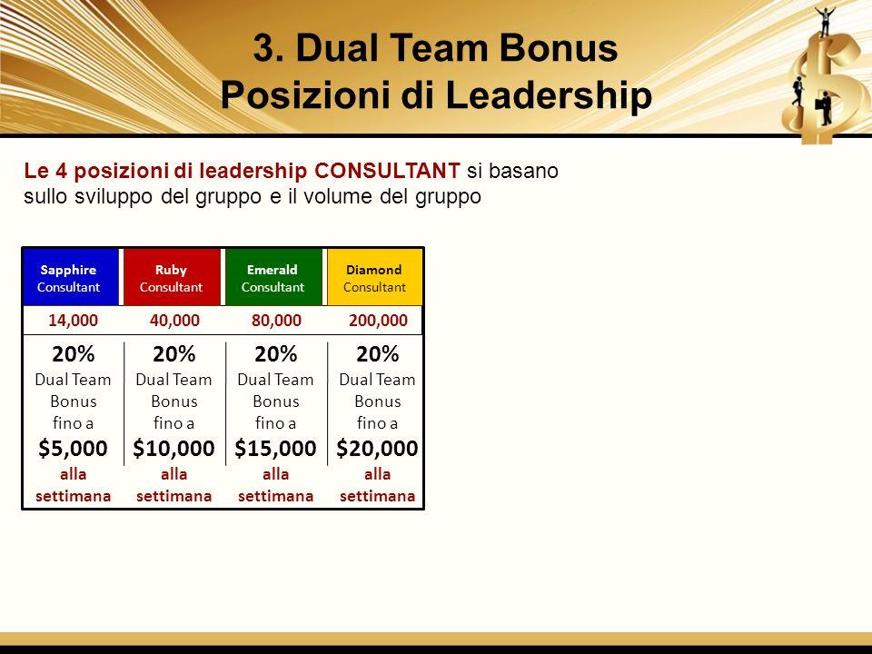 Posizioni di Leadership