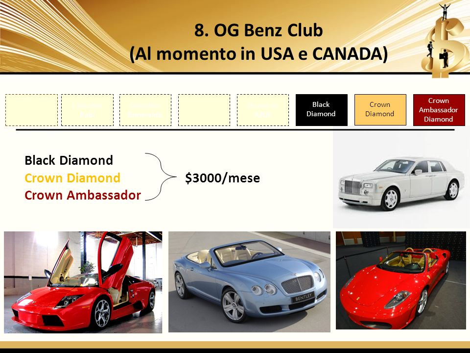 8. OG Benz Club (Al momento in USA e CANADA)