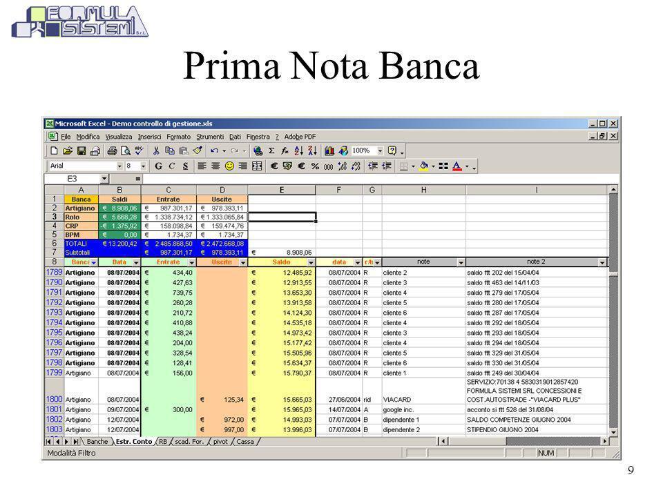 Prima Nota Banca
