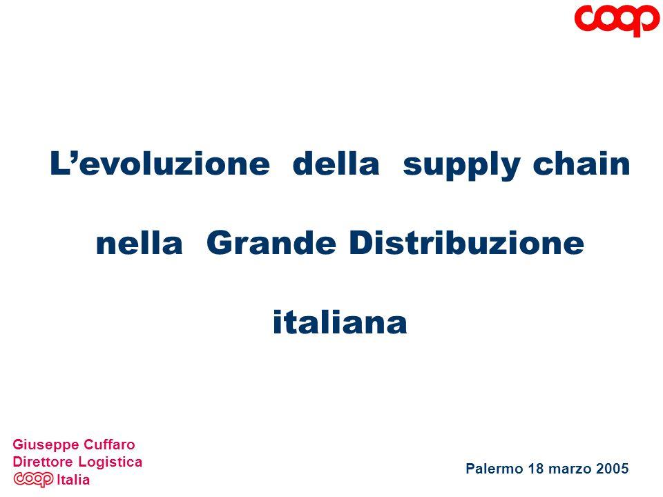 L'evoluzione della supply chain nella Grande Distribuzione italiana