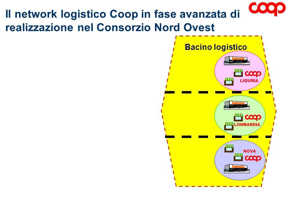Il network logistico Coop in fase avanzata di realizzazione nel Consorzio Nord Ovest