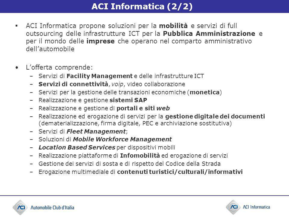 ACI Informatica (2/2)