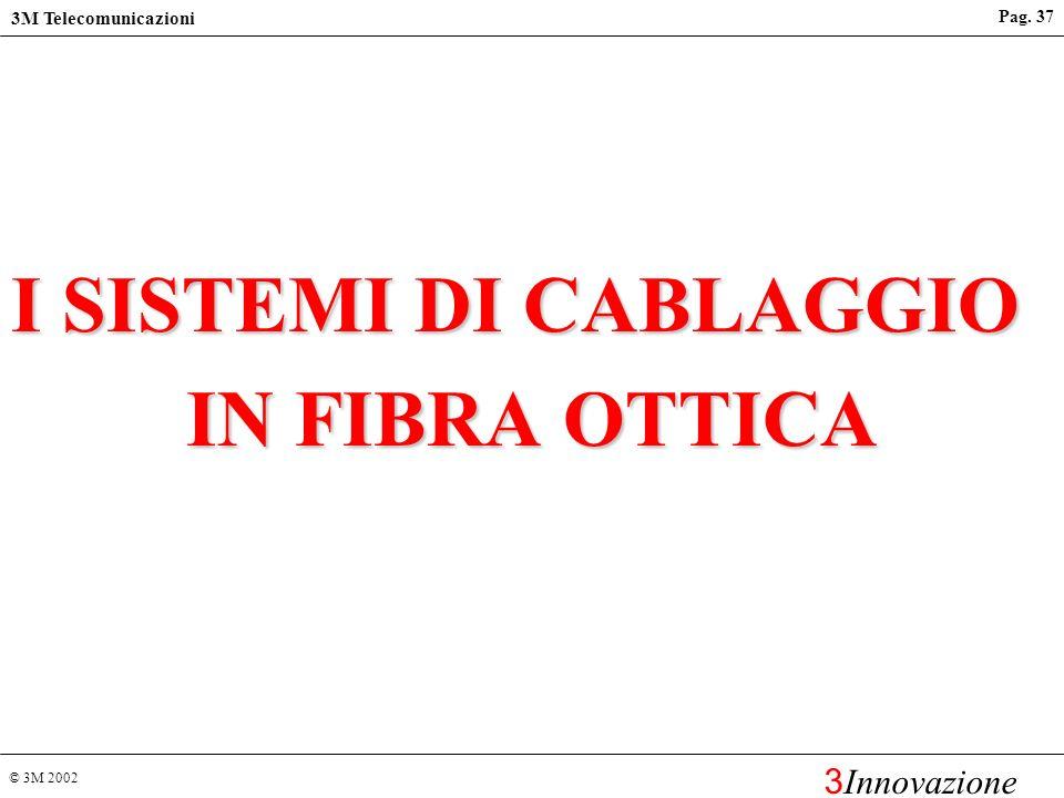 I SISTEMI DI CABLAGGIO IN FIBRA OTTICA