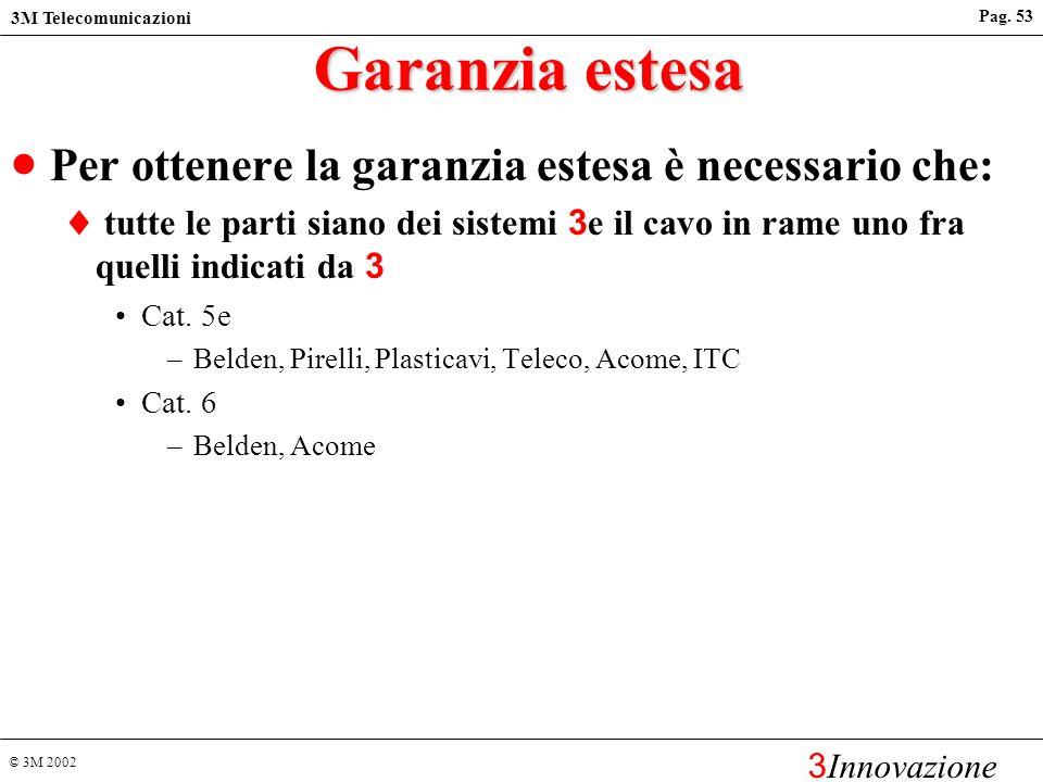 Garanzia estesa Per ottenere la garanzia estesa è necessario che: