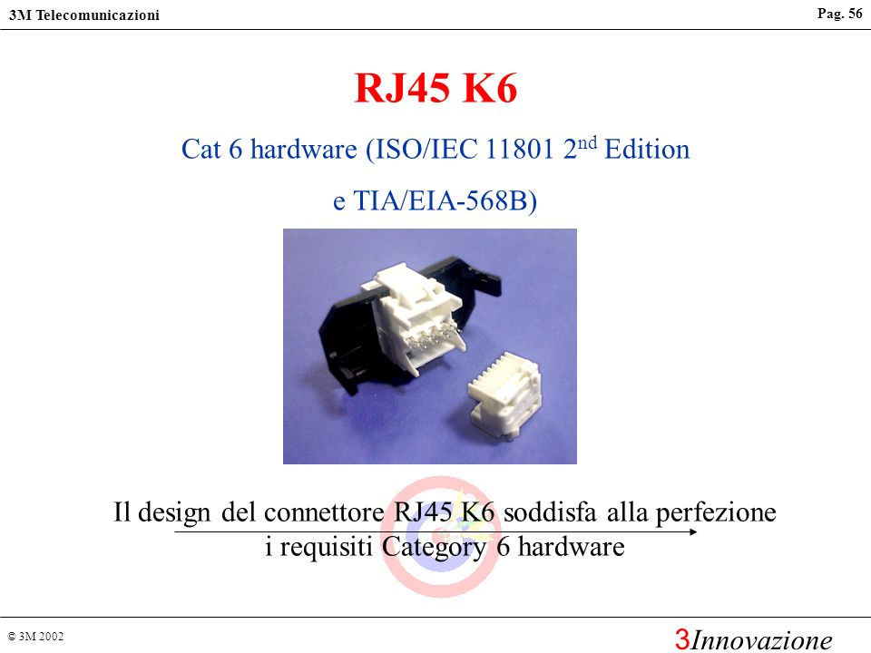 Cat 6 hardware (ISO/IEC 11801 2nd Edition