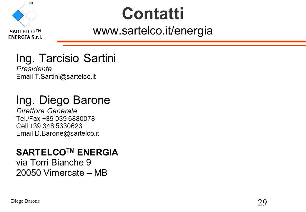 Contatti www.sartelco.it/energia