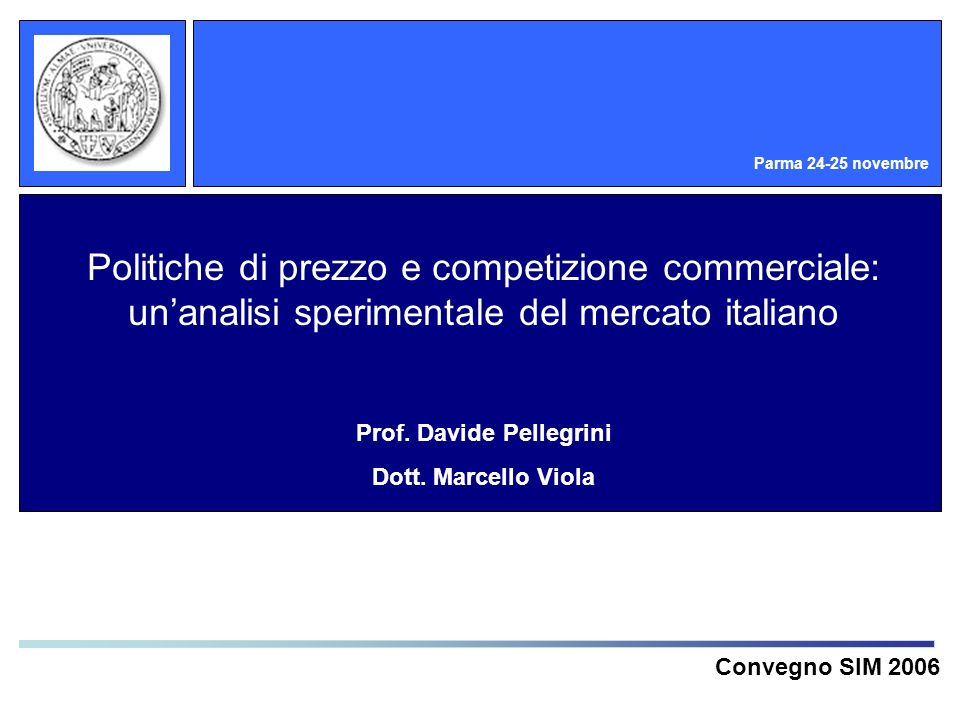 Prof. Davide Pellegrini