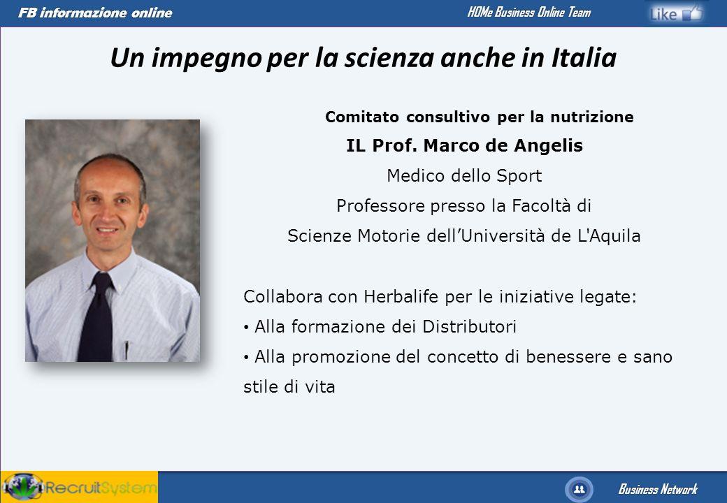 Un impegno per la scienza anche in Italia
