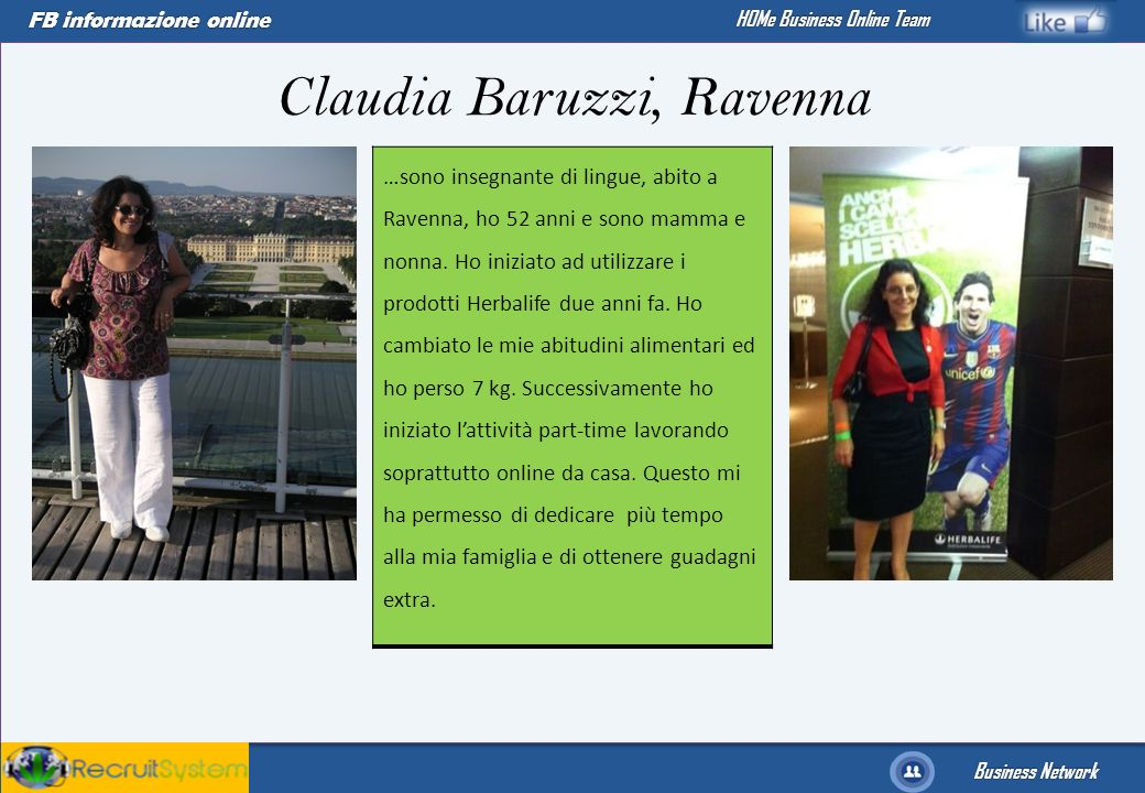 Claudia Baruzzi, Ravenna