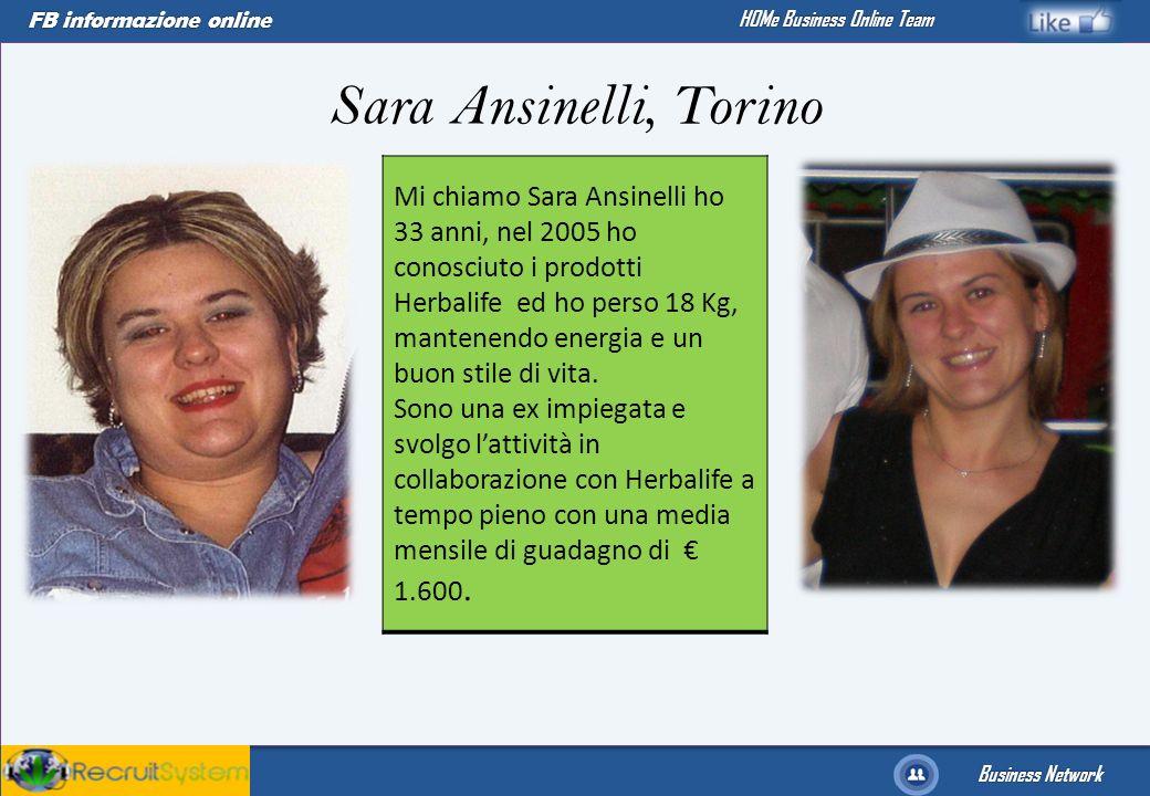 Sara Ansinelli, Torino