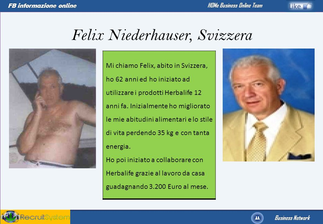 Felix Niederhauser, Svizzera