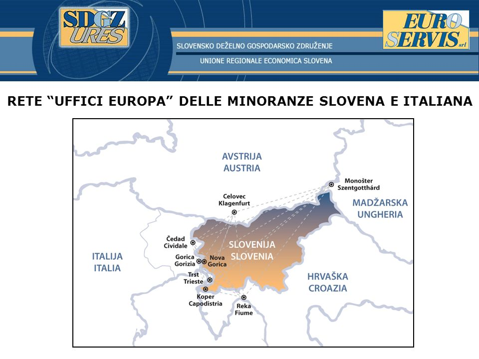 RETE UFFICI EUROPA DELLE MINORANZE SLOVENA E ITALIANA