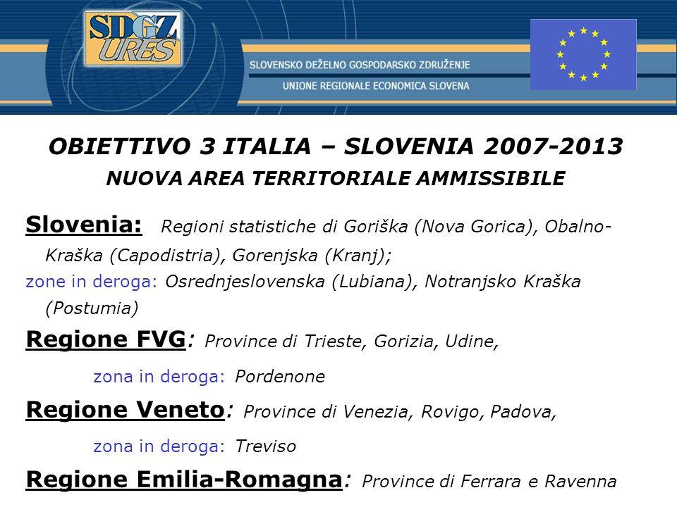 Regione FVG: Province di Trieste, Gorizia, Udine,
